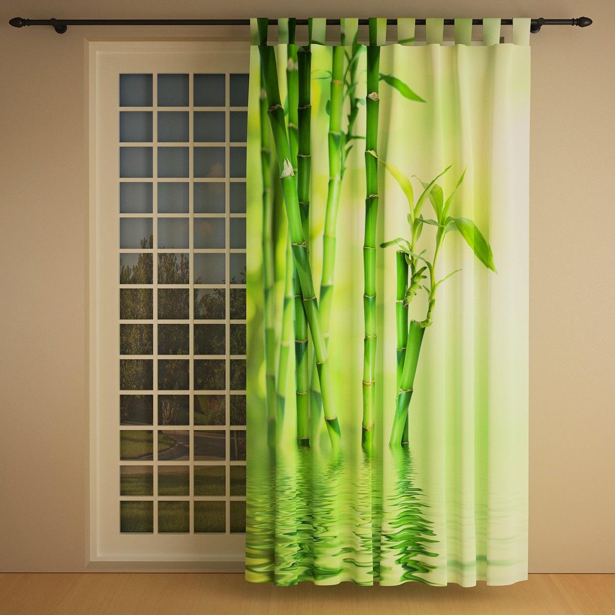 vorhang bambus 145 x 245cm links blickdicht lichtdurchl ssig bambusvorhang ebay. Black Bedroom Furniture Sets. Home Design Ideas